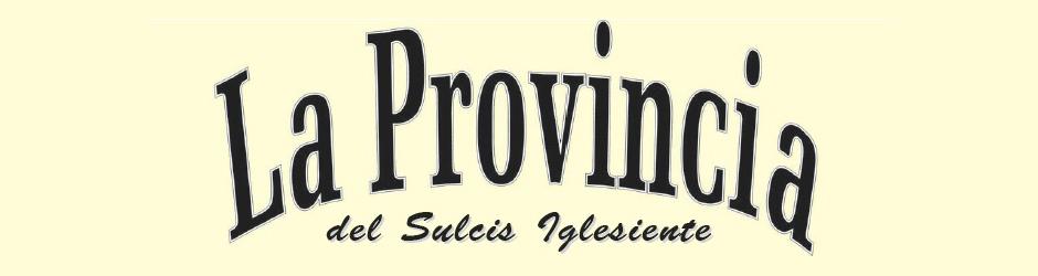 La Provincia del Sulcis Iglesiente
