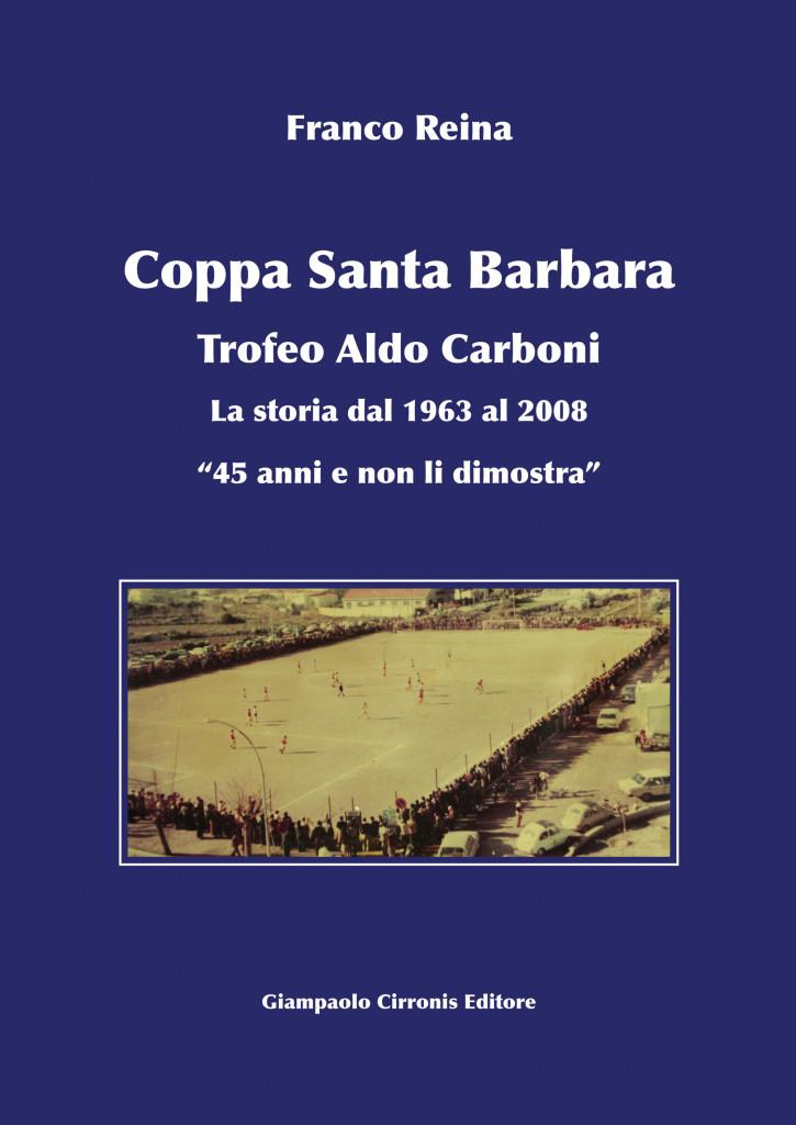 Copertina libro Coppa Santa Barbara