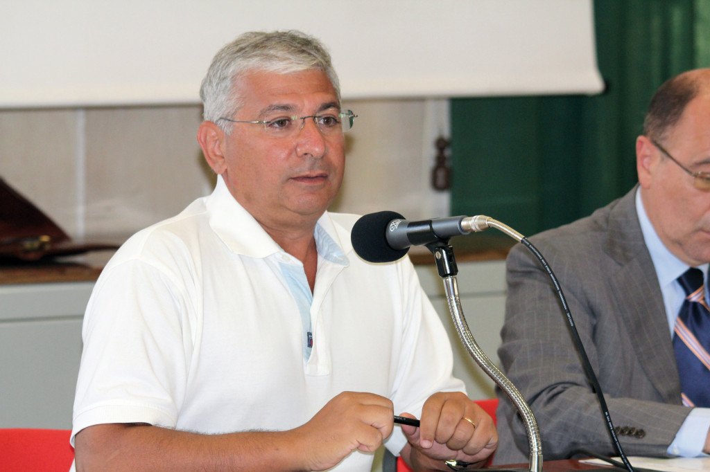 Francesco Sanna, deputato del Partito Democratico.