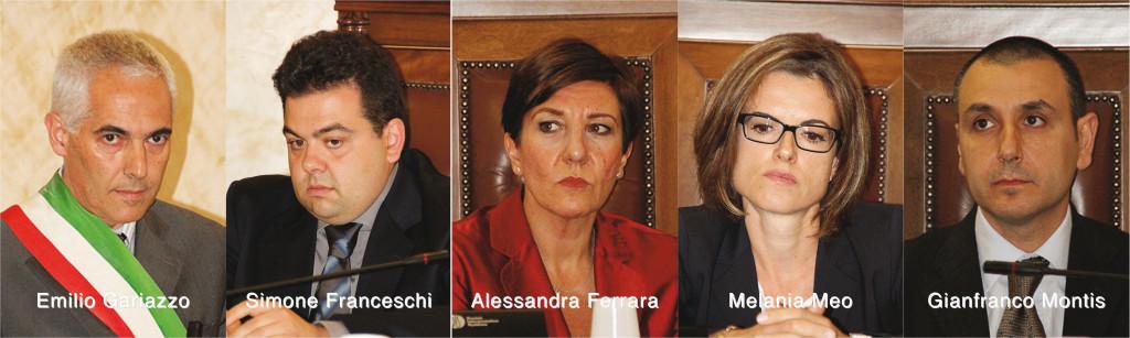 Insediato il nuovo Consiglio comunale di Iglesias. Il sindaco Emilio Gariazzo ha presentato i primi quattro assessori.