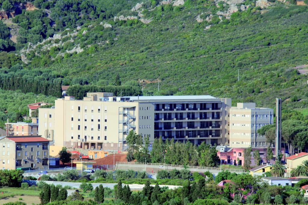 Ospedale Sirai Carbonia a colori