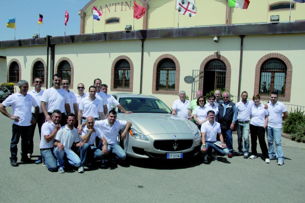 Presentata alla Cantina Santadi la Maserati Quattroporte nuovo orgoglio italiano