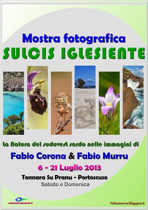 Mostra fotografica Sulcis Iglesiente di Fabio Corona & Fabio Murru dal 6 al 21 luglio a Su Pranu.