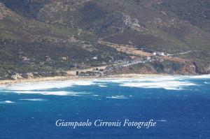 La spiaggia di San Nicolò di Buggerru.