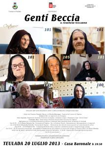 Teulada festeggia le sue sei centenarie.