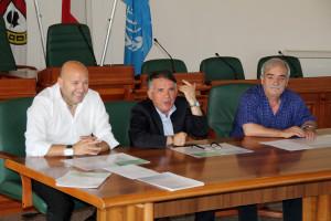 Ferdinando Pellegrini, Angelo Deidda e Roberto Lallai.