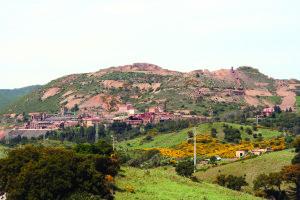 La miniera di Monteponi.