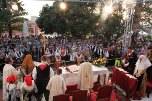 Festa grande questa sera a Santadi per il 45° Matrimonio Mauritano. Uniti in matrimonio due giovani caraninieri, Nicola Cosa e Gaya Zirizzotti.