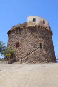 La Torre spagnola di Portoscuso.