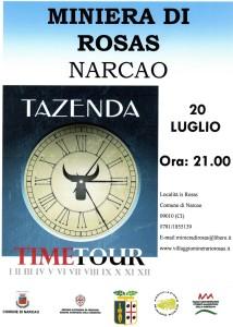 I Tazenda in concerto questa sera alla Miniera di Rosas.