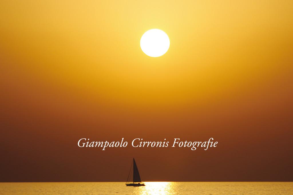 Portoscuso – Un tramonto a Capo Altano.