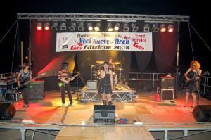 """Il 12 e 13 agosto ritorna a Sant'Anna Arresi e Giba, la Rassegna """"Voci Nuove del Rock"""", organizzata dall'associazione Janas."""