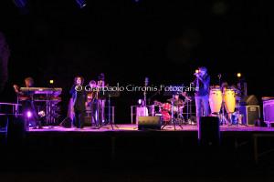"""Antonella Ruggiero e Maurizio Camardi hanno concluso alla grande a Carbonia il """"Carignano Music Experience 2013""""."""