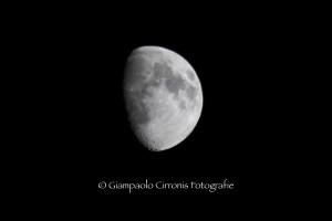 La luna del 16 agosto 2013.