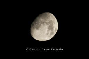 La luna del 17 agosto 2013.