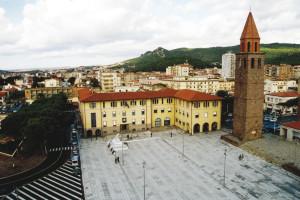 Il Municipio di Carbonia.