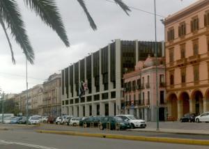 Il Palazzo del Consiglio regionale.