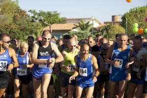 Partenza Maratonina Palmas 1
