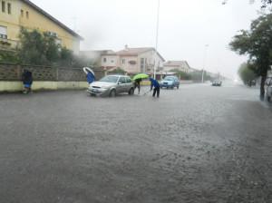 Il temporale di fine agosto ha riproposto antichi problemi in alcune zone di Carbonia.