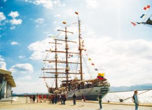 Il molo Ichnusa del porto di Cagliari.