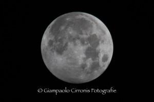 Luna piena 19 ottobre 2013, ore 01.37.36.