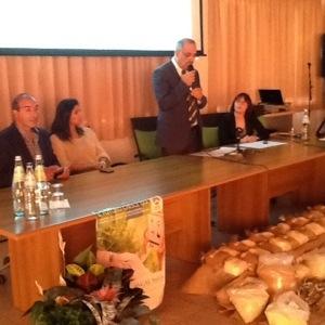 E' in corso a Masainas la presentazione del Simposio delle identità rurali che si terrà nel Sulcis nel mese di maggio 2014.
