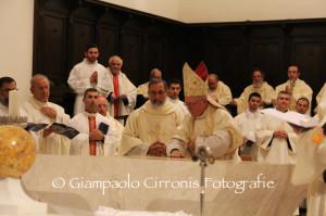 Si è svolta questa sera, a Iglesias, la cerimonia di dedicazione della Cattedrale di Santa Chiara, riaperta al culto dopo tredici anni.