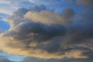 Nuvole di fine novembre.