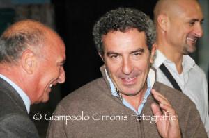Festa grande questa sera all'oratorio di Rosmarino, per la visita di Gianfranco Matteoli e Gianluca Festa.
