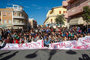 Il mondo della scuola in agitazione anche nel Sulcis Iglesiente, ieri manifestazioni a Iglesias e Carbonia.