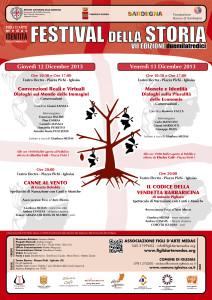2013-12-12+13 Iglesias Festival della Storia Locandina