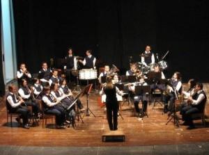 """Domenica 11 maggio il Teatro Centrale di Carbonia ospiterà il """"Concerto di Primavera"""" della Banda """"Vincenzo Bellini""""."""