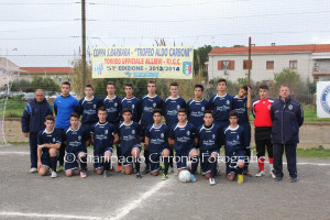 Carbonia allievi 2013:2014