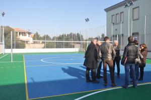 E' stato completato l'impianto sportivo polivalente dell'IPIA di Sant'Antioco.