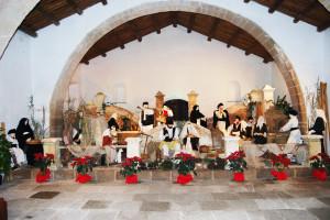 """Verrà inaugurato lunedì 16 dicembre, alle 19.00, a Portoscuso, nei locali della Tonnara """"Su Pranu"""", il presepe monumentale."""
