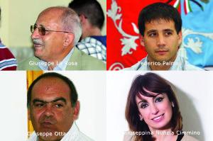 I quattro candidati dei Riformatori Sardi alle Regionali nella circoscrizione provinciale di Carbonia Iglesias.