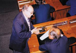 Felicetto Contu si è dimesso dalla carica di consigliere regionale ed è stato eletto Difensore Civico.