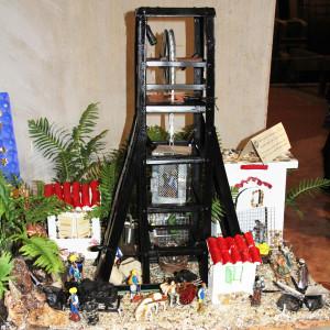 Si è conclusa ieri la mostra In miniera tra i presepi, visitabile dal 7 dicembre scorso presso la Sala Argani del Museo del Carbone.
