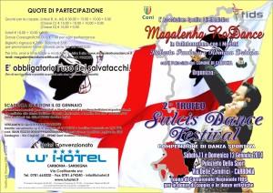 """E' in programma oggi e domani, al Palazzetto dello sport di Carbonia, il 2° trofeo """"Sulcis Dance Festival"""", competizione ufficiale di danza sportiva FIDS."""
