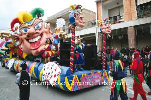 """Domenica 23 febbraio, dalle ore 15.00, si svolgerà il """"Carnevale di Carbonia"""""""
