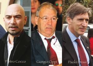Pietro Cocco e Giorgio Oppi sono stati confermati, Paolo Dessì è il primo dei non eletti. Tre volti nuovi dal Sulcis in Consiglio regionale.