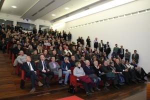 La sala conferenze della Grande Miniera di Serbariu ha ospitato questo pomeriggio un convegno organizzato dalla Banca di Credito Sardo sul tema: «Sulcis, le competenze per l'eccellenza – le opportunità da sviluppare».