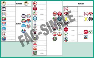 La Direzione Generale della Presidenza della Regione ha chiarito le modalità con le quali è stata predisposta la scheda elettorale.