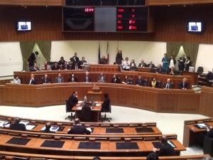 E' iniziata la XV legislatura del Consiglio regionale della Sardegna.