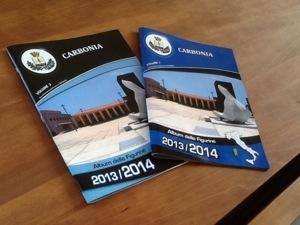 L'assessore comunale dello Sport ha presentato stamane l'album delle figurine degli sportivi di Carbonia della stagione 2013/2014.