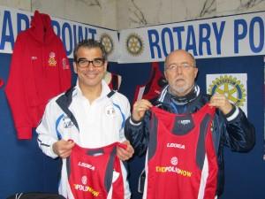 """Anche quest'anno il Rotary Club Iglesias e l'Atletica Monteponi Iglesias parteciperanno  alla campagna della Rotary Foundation contro la Poliomielite, il programma """"End Polio Now""""."""