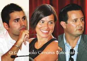 """«Non a sinistra, non a destra, non al centro…ma AVANTI con i cittadini e come cittadini!». E' nato ufficialmente ieri a Carbonia il gruppo """"Iniziativa cittadina"""", costituito da tre consiglieri: Alberto Zonchello, Alessandra Tresalli e Roberto Concas."""
