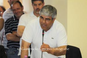Erminio Meloni si ricandida a sindaco di San Giovanni Suergiu, con la lista civica di Unità cittadina nata dall'accordo SEL-PSI.