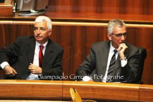 Francesco Pigliaru e Raffaele Paci: «Ora lavoriamo duro per uscire dalla crisi».