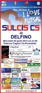E' in programma questa sera, alle 21.00, al Palaconi di Via Rockfeller, a Cagliari, l'incontro tra Sulcis Calcio a cinque Santadi e Delfino Cagliari, prima tappa dei play-off per la promozione alla serie B.